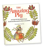 The Amazing Pig title page by Paul Galdone