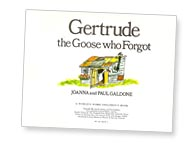 Gertrude the Goose title page by Paul Galdone