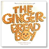 The Gingerbread Boy title page by Paul Galdone