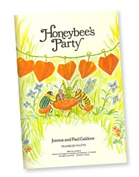 Honeybee's Party title page by Paul Galdone
