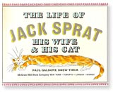 Jack Sprat title page by Paul Galdone