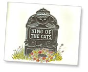 King of the Cats title page by Paul Galdone