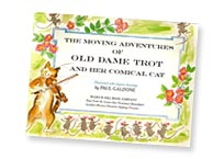 Old Dame Trot title page by Paul Galdone