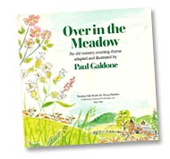 Over in the Meadow title page by Paul Galdone