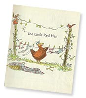 Little Red Hen title page by Paul Galdone
