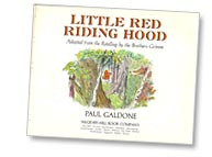Little Red Riding Hood title page by Paul Galdone