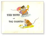 The Town Mouse and The Country Mouse title page by Paul Galdone