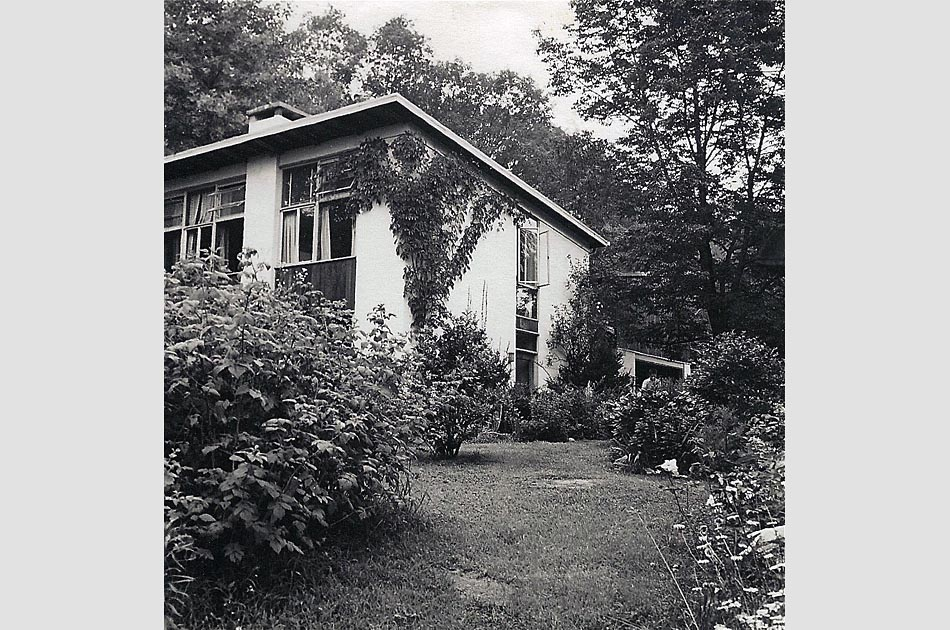 The house in New City, NY 1960s