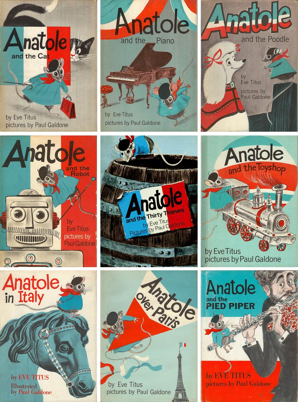 Anatole covers by Paul Galdone