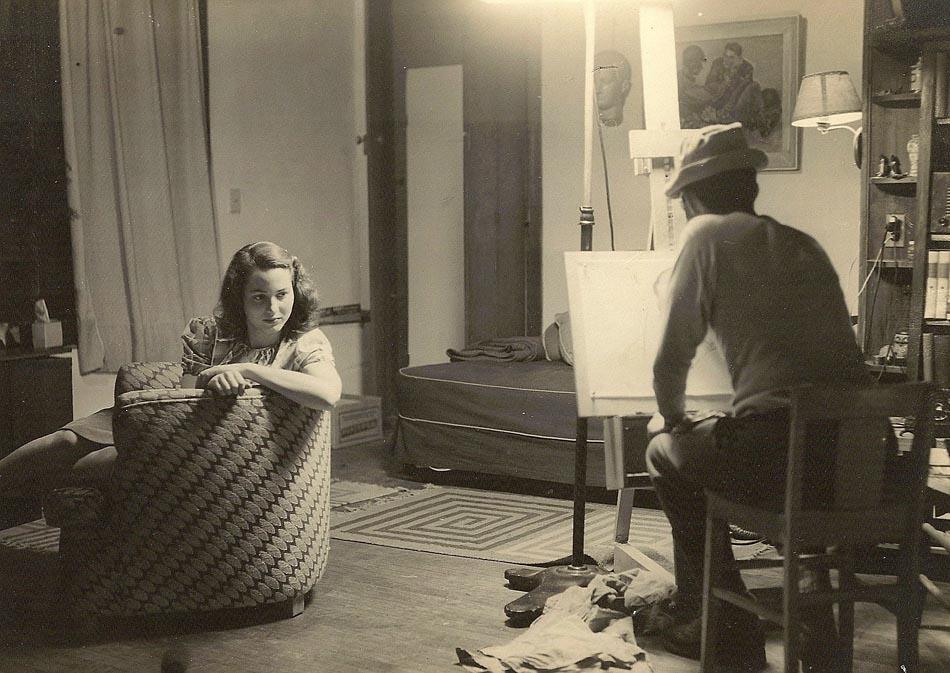 Paul Galdone draws Daphne Foster