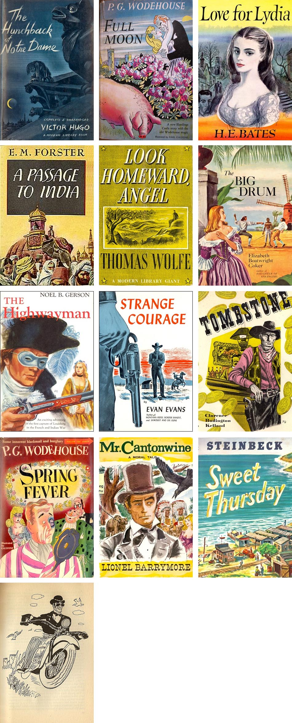Book jacket covers by Paul Galdone
