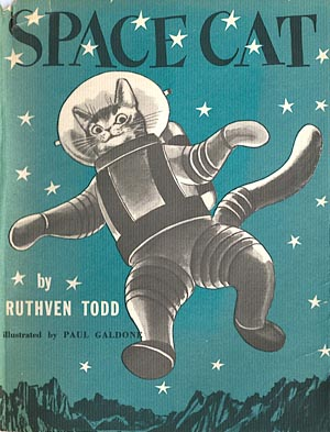 Space Cat by Paul Galdone